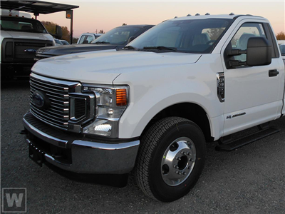 2021 Ford F-350 Regular Cab 4x2, Cab Chassis #MEC75806 - photo 1