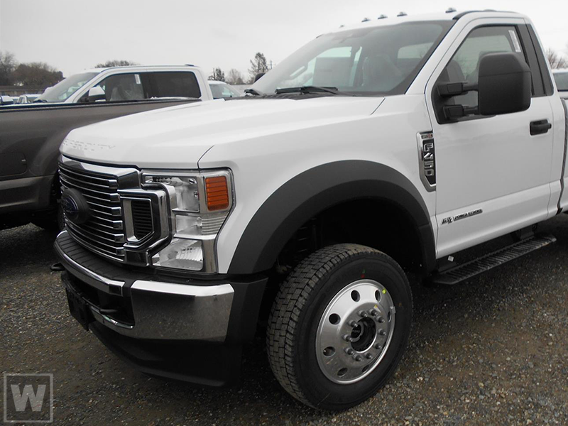 2021 Ford F-450 Regular Cab DRW 4x2, Scelzi Contractor Body #MDA00025 - photo 1