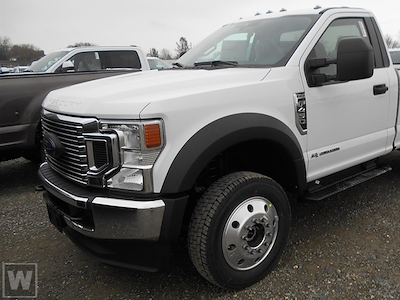 2021 Ford F-450 Regular Cab DRW 4x4, Cab Chassis #PA214142 - photo 1