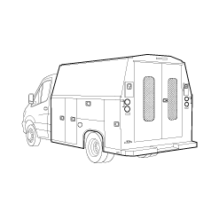 Service Utility Van