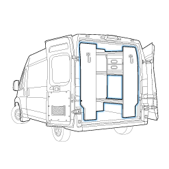 Upfitted Cargo Van