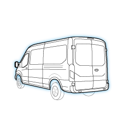 Ford Empty Cargo Vans Roseville, CA