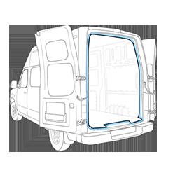 Empty Cargo Van