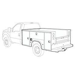 Silverado Service body
